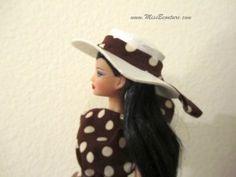 Pretty Woman hat tutorial for Barbie