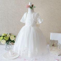 Vestido Branco Infantil Festa / Daminha / Casamento / Aniversário / Cerimônia