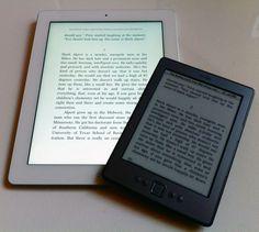 iPad 3 + Amazon Kindle