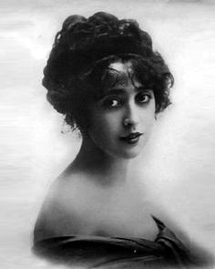 Mabel Normand, c. 1910s.  Two major scandals in the 1920s, significant partying and drug use, and dead of tuberculosis in 1930 at the age of 37.