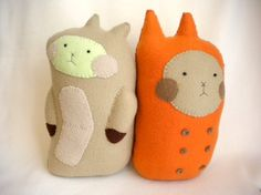 Super cute hand stitched soft toys from Finkelstein's Center.