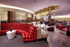 Virgin Upper Class Lounge at JFK by Slade Architecture