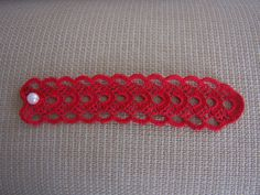 crochet napkin rings 2 pieces for your christmas by mehves1979