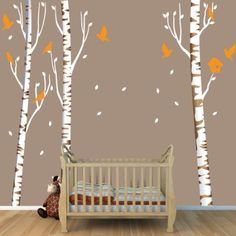Aspen trees aspen and tree wall decals on pinterest for Aspen tree wall mural
