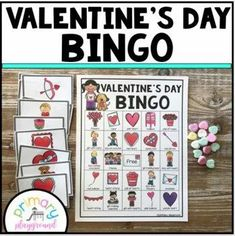 Valentine's Day Bingo - Primary Playground