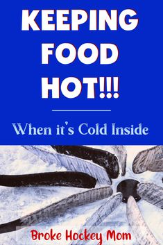 Feed a Team Hot Food in a Cold Rink - Broke Hockey Mom Hockey Mom, Hockey Teams, Team Dinner, Hockey Tournaments, Cooking For A Group, Semi Homemade, Dinner Options, Number Two, Different Recipes