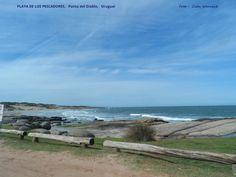 PLAYA DE LOS PESCADORES em PUNTA DEL DIABLO. Uruguai. Foto : Cida Werneck