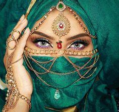ღஐღ Вeauty dosage of the Eastღஐღ Arabian Eyes, Arabian Nights, Pretty Eyes, Beautiful Eyes, Hijab Makeup, Brow Palette, Arabic Makeup, Exotic Beauties, Brow Gel