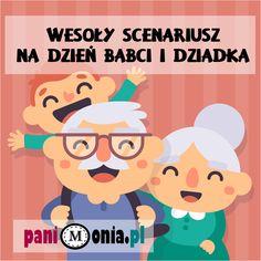 Dzień Babci i Dziadka - wesoły scenariusz - Pani Monia