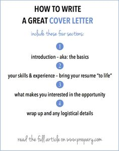 how to write a cover letter - Cover Letter Writing Tips