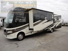 Class A - 2011 - Gas - Like New Low Mile Daybreak - ONLY $79,995.00 The open road is calling to your soul, with this class A Daybreak you are ready to roll!With sleeping for up to six the whole family can join in on the fun!
