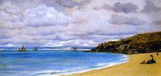John Edward Brett, A.R.A. - St. Ives,1872