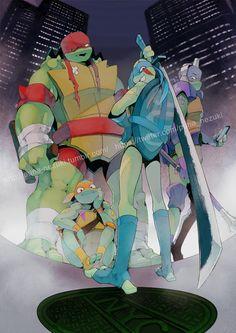 Teenage Mutant Ninja Turtles porr serier Sverige orgier