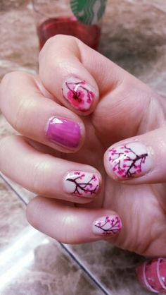 Nails.. pink