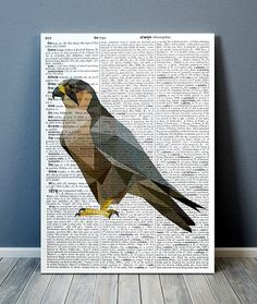 Beautiful Polygonal print for your home and office. SIZES: x Bird Poster, Dictionary Art, Bird Prints, Low Poly, Geometry, Contemporary, Lifestyle, Nice, Artwork