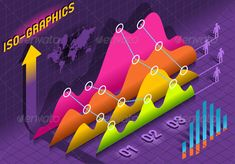 Isometric Infographic Histogram Set Elements  #GraphicRiver         Detailed illustration of a Isometric Infographic Histogram Set Elements in Various Colors This illustration is saved in EPS10 with color space in RGB. Where possible, the objects have been grouped to make it easily editable or hidden. This illustration contains a transparency blends, which makes up the reflective shape under and over some objects. These blends are separate objects from other and from the rest of the artwork…