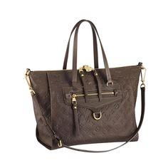 Louis Vuitton Lumineuse PM Brown Shoulder Bags