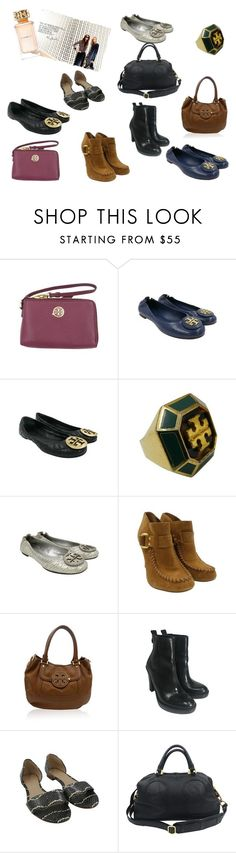 """""""Tory Burch Look"""" by alexissuitcase on Polyvore featuring Tory Burch"""