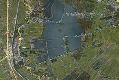 loosdrechtse plassen   ... met auto's naar Breukelen Rondje Loosdrechtse plassen Google Earth
