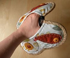 Butterfly Potholder Pattern