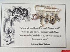 Kocham.to - Broszka Alicja w Krainie Czarów
