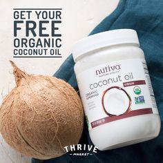 We LOVE organic, ethically sourced, and virgin coconut oil! Not only is it tasty, ultra-moisturizing, and versatile, but it's also free of any added chemicals. Lucky for us, Thrive Market is giving away jars of the stuff for FREE! thrv.me/fitbottomedcoco #ad