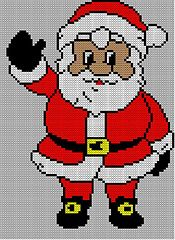 Ravelry: Christmas Santa Jumper / Sweater Knitting Pattern #15 pattern by Blonde Moments