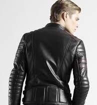 Motorbike Jackets - Update Your Biker Leather Image - Men Style Fashion Black Leather Biker Jacket, Leather Jacket Outfits, Leather Trousers, Leather Fashion, Leather Men, Mens Fashion, Style Fashion, Motorbike Jackets, Motorcycle Jacket
