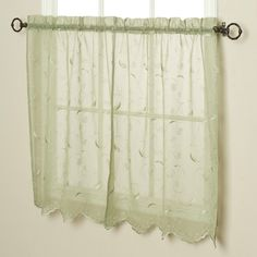Have to have it. Commonwealth Hathaway Tiered Kitchen Curtain - One Pair - $9.01 @hayneedle