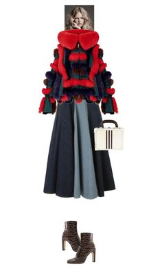 """""""Janae #9468"""" by canlui ❤ liked on Polyvore featuring Lanvin, Bertoni, Sergio Rossi, jacket, coat and coats"""