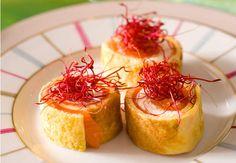 Bouchées de saumon fumésVoir la recette des bouchées de saumon fumés