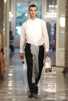 Clement Chabernaud #BrainandBeast SS13 080 Barcelona Fashion #menswear