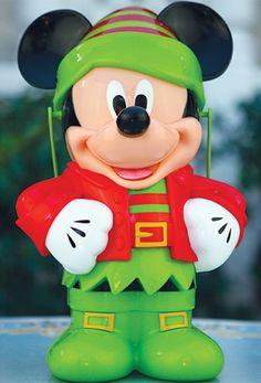 Mickey Mouse Popcorn Buckets; Holidays at Disneyland Parks