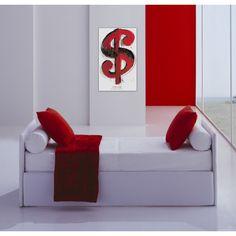 WARHOL - Dollar Sign, 1981 #artprints #interior #design #art #prints #Warhol  Scopri Descrizione e Prezzo http://www.artopweb.com/autori/andy-warhol/EC18128