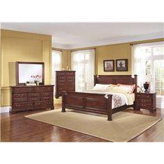 Dark wood Bedroom set