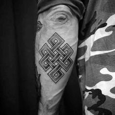 50 Endless Knot Tattoo Designs For Men - Eternal Ink Ideas