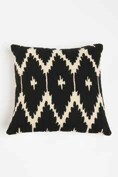 Magical Thinking Crewel Ikat Pillow  #UrbanOutfitters