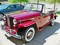 1948 Willys jeepster, I love it!!