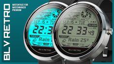 Blv Retro Watchmaker Watchface Android Wear, Retro, Retro Illustration