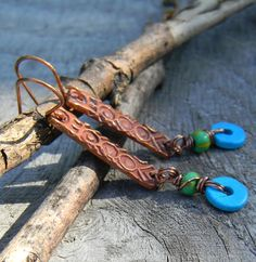 Chrysalis for the Curious: Tribe L Earrings