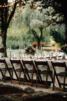 photo: Bethany Small via Magnolia Rouge; Fall Wedding Ideas with Luxe Rustic Style