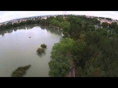 Video Dron Lago Espejo Lirios C. Izcalli Mexico julio 10, 2015