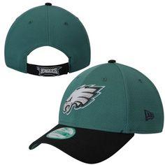 f7b3a043af7 Men s New Era Green Philadelphia Eagles 2017 Training Camp Official Bucket  Hat