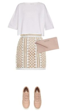 """Untitled #493"" by isabellakongerskov ❤ liked on Polyvore featuring Balmain, Helmut Lang and MICHAEL Michael Kors"