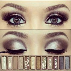For brown and hazel eyes. Inspiration for dance competition/recital with some age-appropriate tweaks.