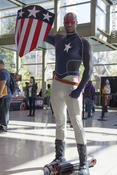 Isaiah Bradley [Marvel] of - SharcTank Epic Cosplay, Marvel Cosplay, Awesome Cosplay, Easy Costumes, Cosplay Costumes, Isaiah Bradley, Black Cosplayers, Black Goth, Captain America