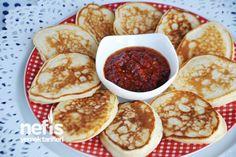 Kaşık Dökmesi Tarifi - (Turkish) - Pouring Spoon Recipe : Ingredients: 1 cup yogurt 2 eggs Less than 1 cup oil until a finger 1 packet of baking powder 1 teaspoon salt 1.5-2 cups flour