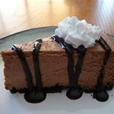"""Guinness® and Chocolate Cheesecake 