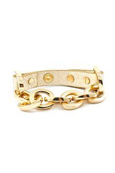 Danica Bracelet in Warm Gold
