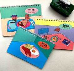 감각적인 일러스트와 함께하는 콤마B의 2018스케쥴러>0< #바보사랑#babosarang#2018#스케쥴러#scheduler#planner#diary#다이어리#플래너#다꾸#노트#note Packaging Design, Branding Design, Poster Design, Calendar Design, Doodle Drawings, Grafik Design, Illustrations And Posters, Design Reference, Colorful Pictures